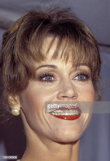 Jane Fonda during 1980 American Movie Awards at Wilshire Theater in Beverly Hills California United States