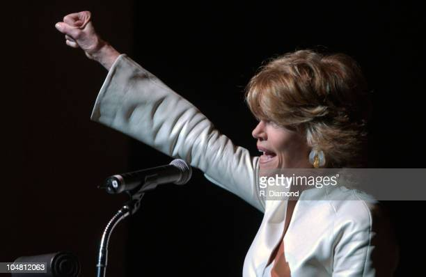 "Jane Fonda during G-CAPP'S ""The Retro Premier"" of 9 to 5- Live Auction at Woodruff Arts Center in Atlanta, Georgia, United States."