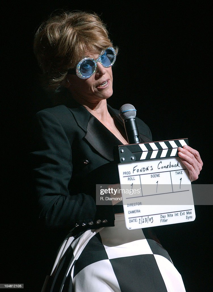 Jane Fonda during G-CAPP'S 'The Retro Premier' of 9 to 5- Live Auction at Woodruff Arts Center in Atlanta, Georgia, United States.