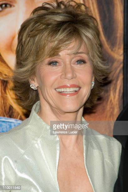 Jane Fonda during Georgia Rule New York City Premiere - Outside Arrivals at Ziegfeld Theater in New York City, New York, United States.