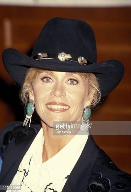 Jane Fonda during Golden Boot Awards at Century Plaza Hotel in Century City California United States