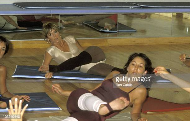 Jane Fonda during Jane Fonda at Opening of Workout Exercise Gym September 13 1979 at Workout Exercise Gym in Beverly Hills California United States