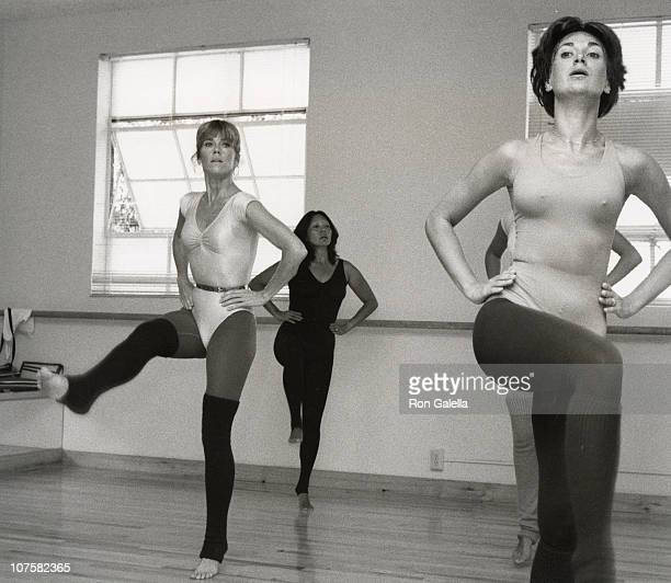 Jane Fonda during Jane Fonda at Opening of Workout Exercise Gym September 13 1979 at 'Workout' Exercise Gym in Beverly Hills California United States