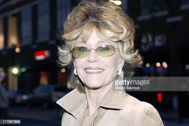 "Jane Fonda during Tyler Perry's ""Madea's Family Reunion"" World Premiere at Atlantic Station in Atlanta, Georgia, United States."