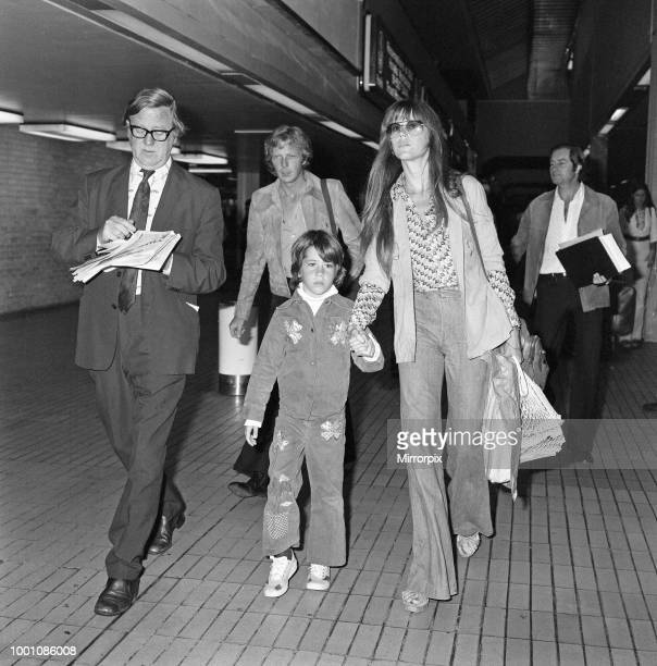 Jane Fonda flew into Heathrow from New York to a big welcome from her eightyearold daughter Vanessa who arrived aboard another jumbo jet from Los...