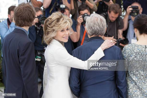 Jane Fonda lors du photocall du film Youth' pendant le 68eme Festival du Film Annuel au Palais des Festivals le 20 mai 2015 Cannes France