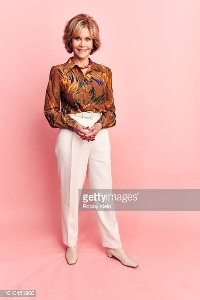 Jane Fonda of HBO's 'Jane Fonda in Five Acts' poses for a portrait during the 2018 Summer Television Critics Association Press Tour at The Beverly...
