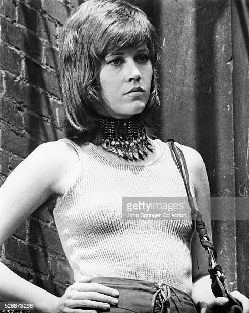 Jane Fonda portrays the prostitue Bree Daniels in the 1971 movie Klute