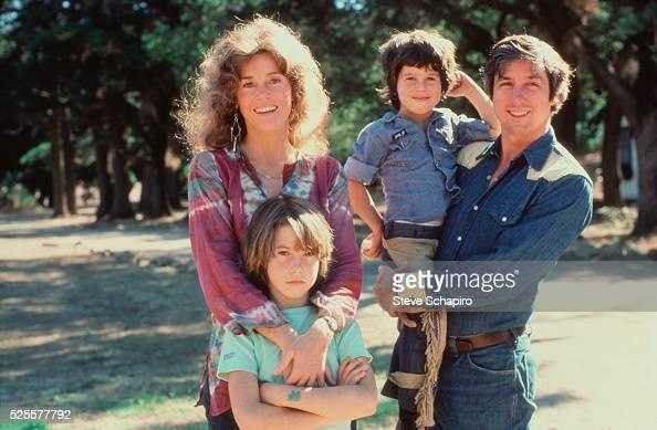 Jane Fonda, Tom Hayden, Troy Garity and Vanessa Vadim at ...