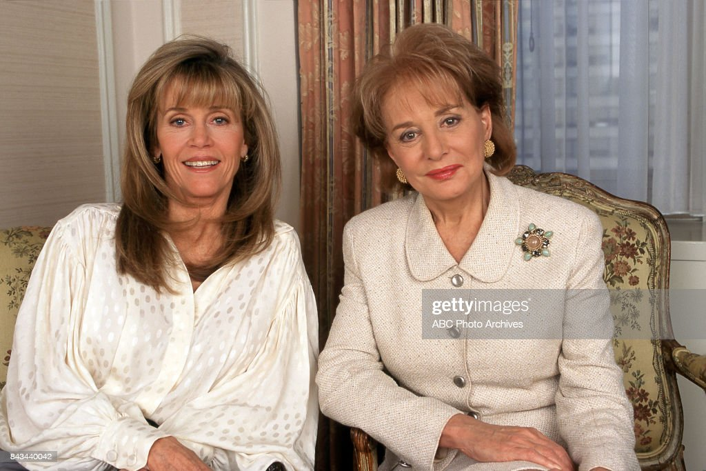 Barbara Walters On Jane Fonda 2018
