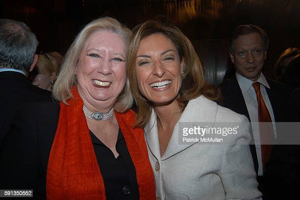 Jane Friedman and Suzy Welch attend Rupert Murdoch Hosts a Cocktail Reception for the Release of Jack Welch's Book Winning at Four Seasons on April 6...