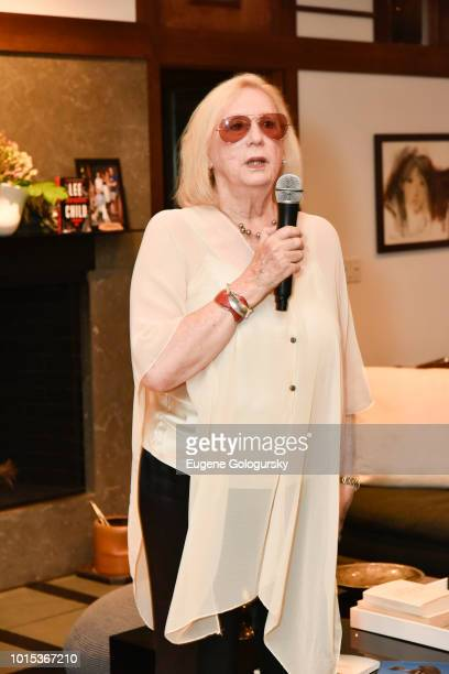 Jane Friedman attends Authors Night At East Hampton Library Private Dinner on August 11 2018 in East Hampton New York