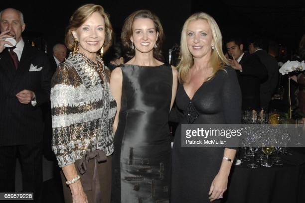 Jane Gammill Alexia Hamm Ryan and Catherine Carey attend THE SOCIETY of MEMORIAL SLOANKETTERING CANCER CENTER 21st Annual Preview Party for The...