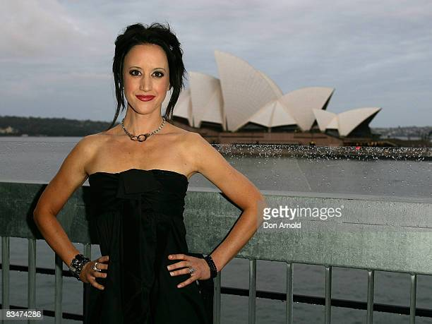 Jane Gazzo attends the 2009 MCN Upfront party, celebrating upcoming programming available on FOXTEL via the Multi Channel Network , at the Overseas...