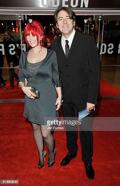 Jane Goldman and Jonathan Ross attend the Opening Gala for The Times BFI London Film Festival which Premiere's 'Fantastic Mr Fox' at the Odeon...