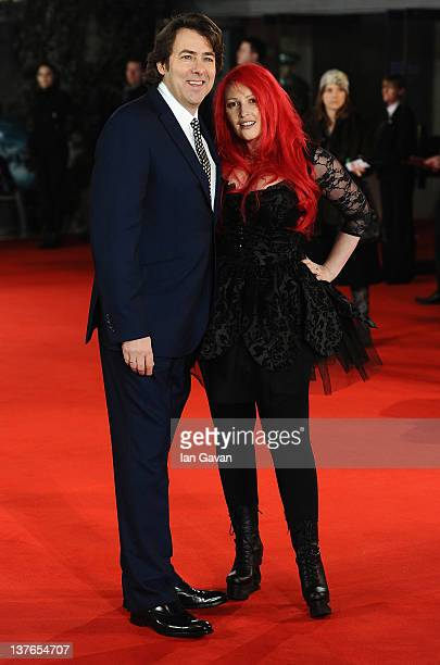 Jane Goldman and Jonathan Ross attends 'The Woman In Black' World Film Premiere at the Royal Festival Hall on January 24 2012 in London England