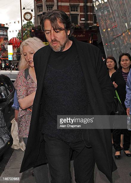Jane Goldman and Jonathan Ross sighting on June 22 2012 in London England