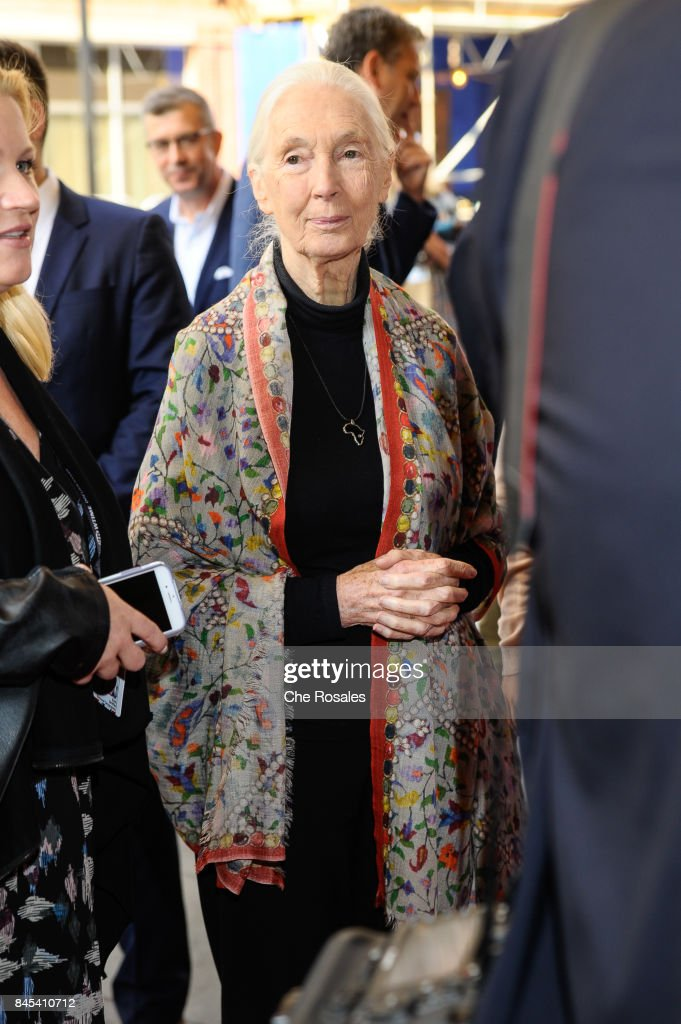 Jane Goodal at Winter Garden Theatre on September 10, 2017 in Toronto, Canada.