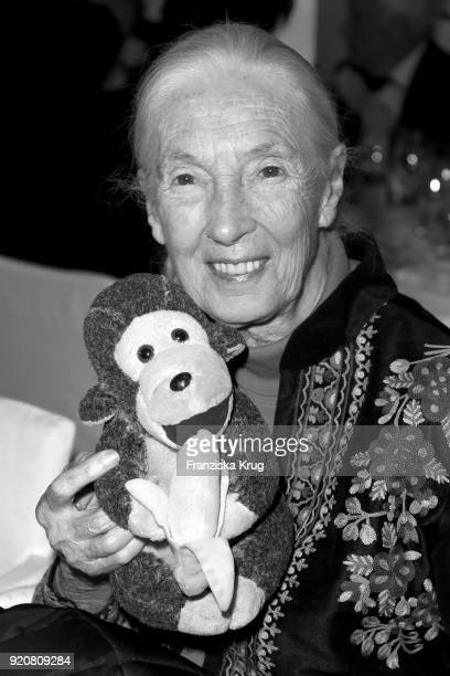 Jane Goodall during the Cinema For Peace Gala on the occasion of the 68th Berlinale International Film Festival at Hotel De Rome on February 19 2018...
