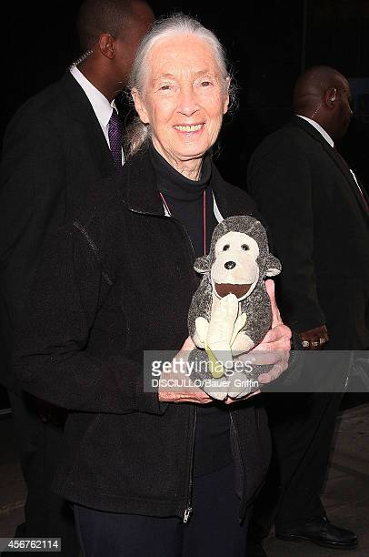 Jane Goodall is seen on April 16 2012 in New York City