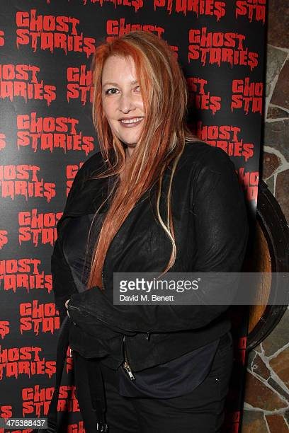 Jane Goodman attends the after party for the press night of Ghost Stories at on February 27 2014 in London England