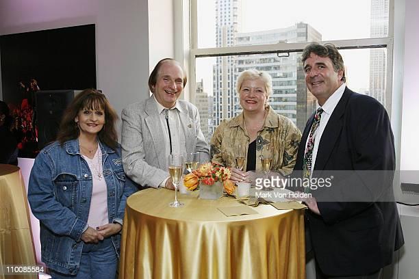 Jane Gramaldi Bill Turner Suzanne Ren and Jeffery Jacobson attend the New York Chapter of NARAS Open House Reception at New York Chapter Office on...