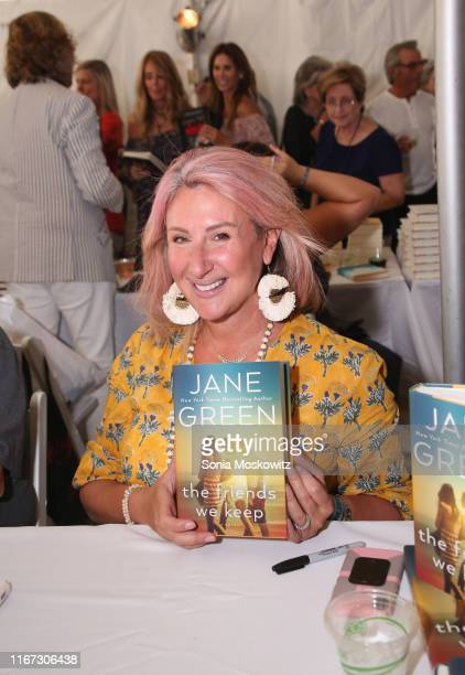 Jane Green at the East Hampton Library's 15th Annual Authors Night Benefit, on August 10, 2019 in Amagansett, New York.