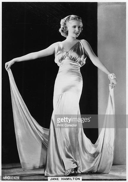 Jane Hamilton American film actress c1938 Jane Hamilton appeared in over 20 films in the 1930s and 1940s Cigarette card from 'Modern Beauties' 3rd...