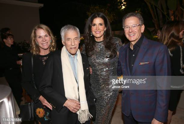Jane Hansen Burt Bacharach Kelly Fisher Katz and Marin Katz attend a private dinner for The Kennedy Center's National Committee For The Performing...