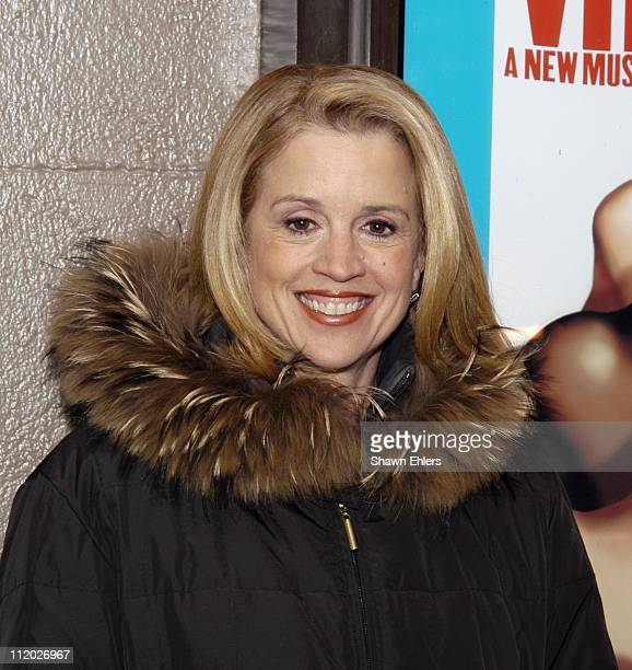 Jane Hansen during Broadway's Good Vibrations Party Celebration at Eugene O'Neill Theatre in New York City New York United States