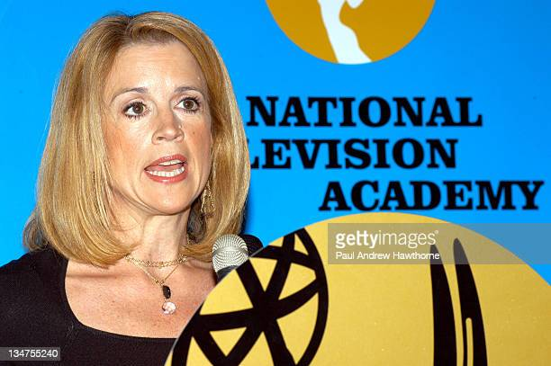Jane Hanson Ancor of Jane's New York WNBCTV during The 47th Annual New York Emmy Award Nominations at Reebok Sports Club in New York City New York...