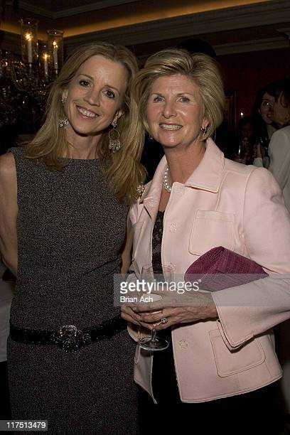 Jane Hanson and Karen Cohen during Carl and Gail Icahn Host a KickOff Cocktail Party at IcahnOs Home in New York City New York United States