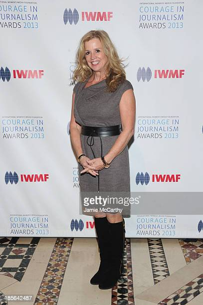 Jane Hanson attends the International Women's Media Foundation's 2013 Courage In Journalism And Lifetime Achievement Awards at Cipriani 42nd Street...