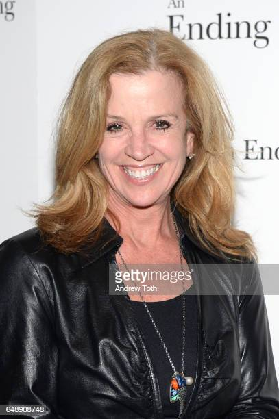 Jane Hanson attends The Sense Of An Ending New York screening at The Museum of Modern Art on March 6 2017 in New York City