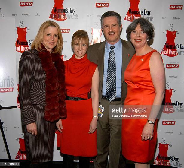 Jane Hanson Dr Nieca Goldberg Dr Max Gomez and Jane Chesnutt editorinchief of Woman's Day