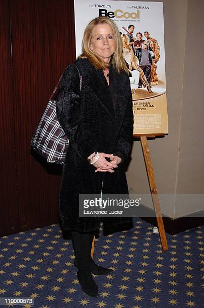 Jane Hanson during Be Cool New York City Screening at MGM Screening Room in New York City New York United States