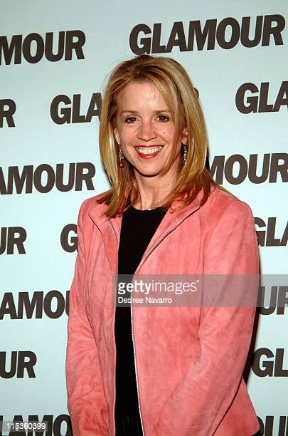 Jane Hanson during GLAMOUR Magazine's Celebration of Their First Ever Hero Issue at DavidBurke and Donatella in New York New York United States