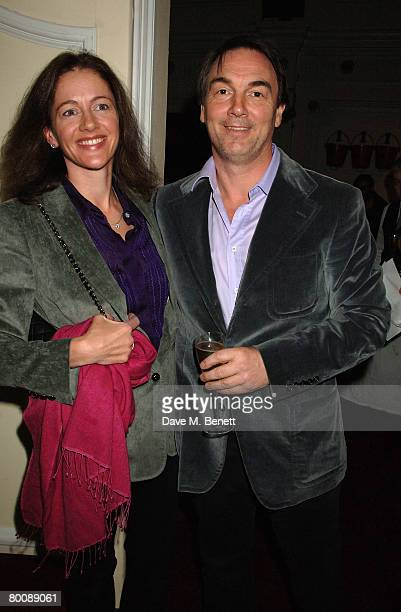 Jane Hardman and Alan Parker arrive at the VIP screening of 'Fade to Black' at the Electric Cinema Notting Hill on March 2 2008 in London England