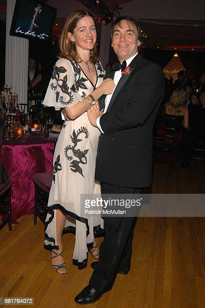 Jane Hardman and Alan Parker attend La Dolce Vita Charity Gala Hosted by Trudie Styler with performance by Sting at Metropolitan Pavilion/Altman...