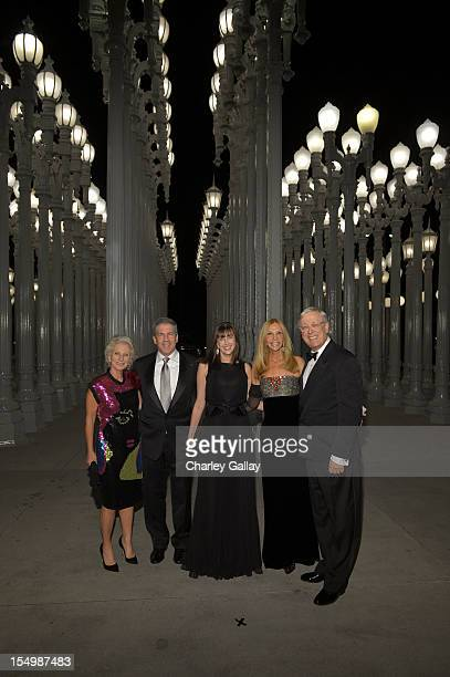 Jane Harman guest Nicole Nathanson Dwyer Jane Nathanson and Marc Nathanson attend LACMA 2012 Art Film Gala Honoring Ed Ruscha and Stanley Kubrick...