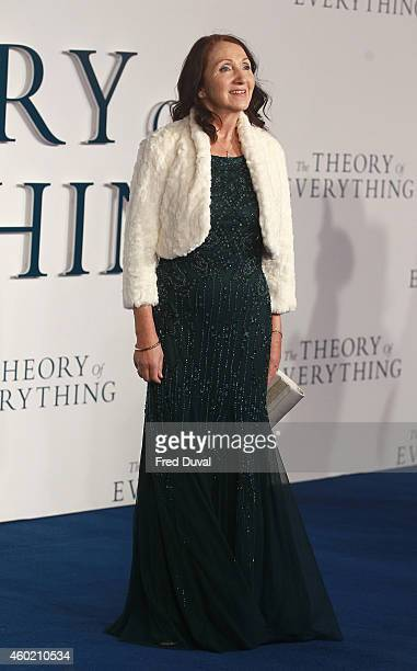 Jane Hawking attends the UK Premiere of The Theory Of Everything at Odeon Leicester Square on December 9 2014 in London England