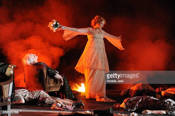 Jane Henschel and Anne Schwanewilms perform with artists of the company in the Royal Opera's production of Richard Strauss's one act opera Elektra...