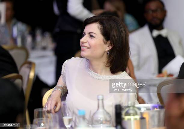 Jane Hill attends the 2018 Diva Awards at The Waldorf Hilton Hotel on June 8 2018 in London England