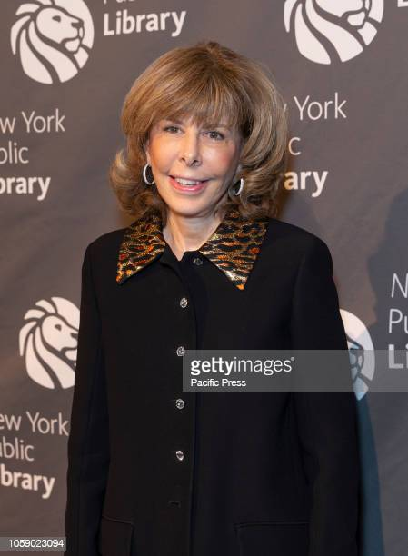 Jane Hitchcock attends the New York Public Library 2018 Library Lions Gala at NYPL Stephen A Schwarzman Building