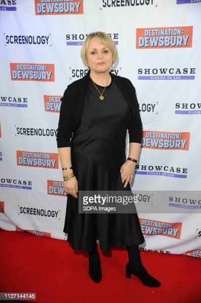 Jane Hollington seen during the Destination Dewsbury UK premiere A premiere of a new British comedy about five friends who reunite for one last road...
