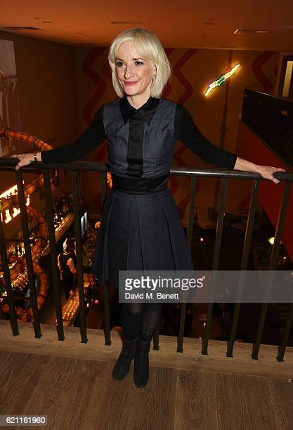 Jane Horrocks attends the press night after party celebrating The Old Vic's production of King Lear at the Ham Yard Hotel on November 4 2016 in...