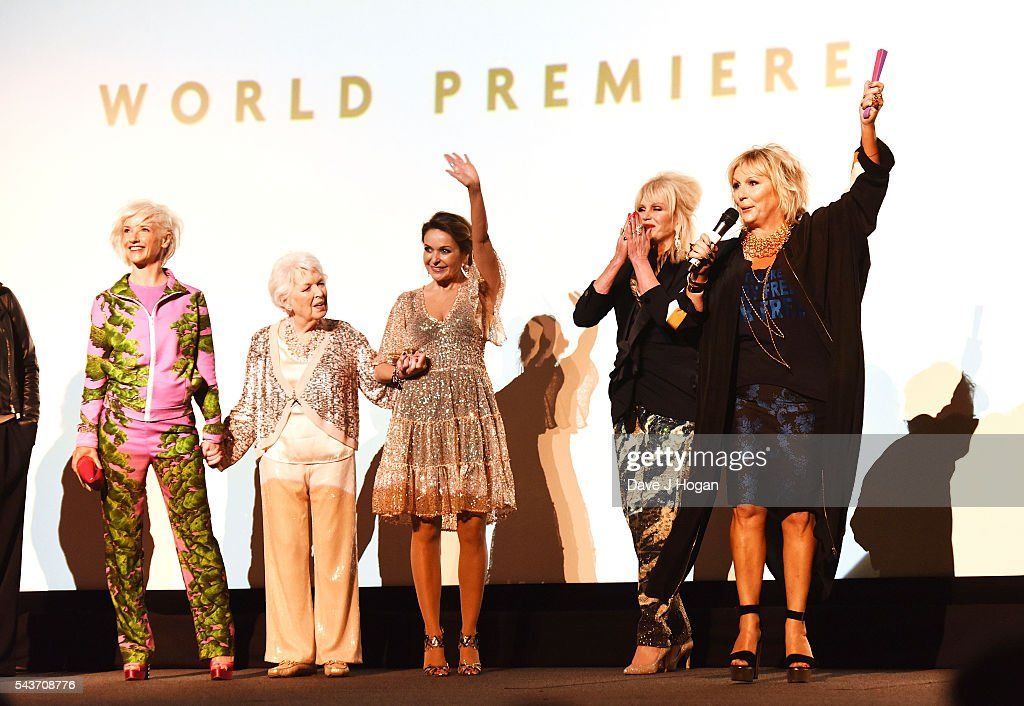 """""""Absolutely Fabulous: The Movie"""" - World Premiere - VIP Arrivals : News Photo"""