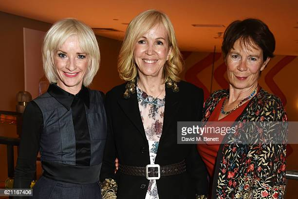 Jane Horrocks Sally Greene and Celia Imrie attend the press night after party celebrating The Old Vic's production of King Lear at the Ham Yard Hotel...