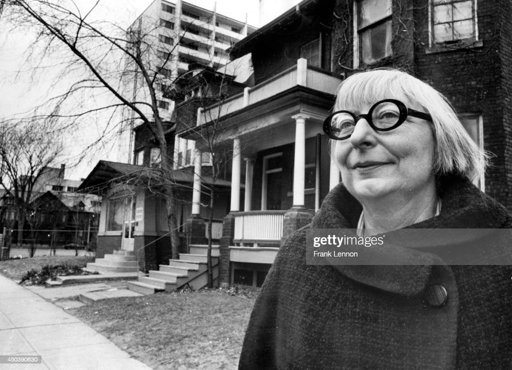 Jane Jacobs... : News Photo