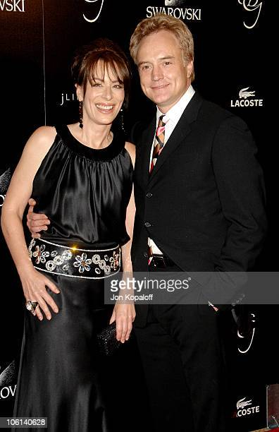 Jane Kaczmarek and Bradley Whitford during 9th Annual Costume Designers Guild Awards Gala at Beverly Wilshire Hotel in Beverly Hills California...